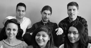 Tayua: Daniela García, Arianna Rueda, Marina López, Michael Murray, Bryden Chernoff and Nico Francini