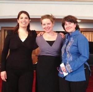 Ensamble Monarca: Paulina Derbez, Naomi Barrón, María Rosales